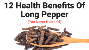 Science Explains How Long Pepper Can Treat Cough and Relieve Asthma