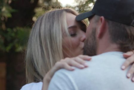 Big Big Plans Chris Lane Share Their Girlfriend Lauren Bushnell