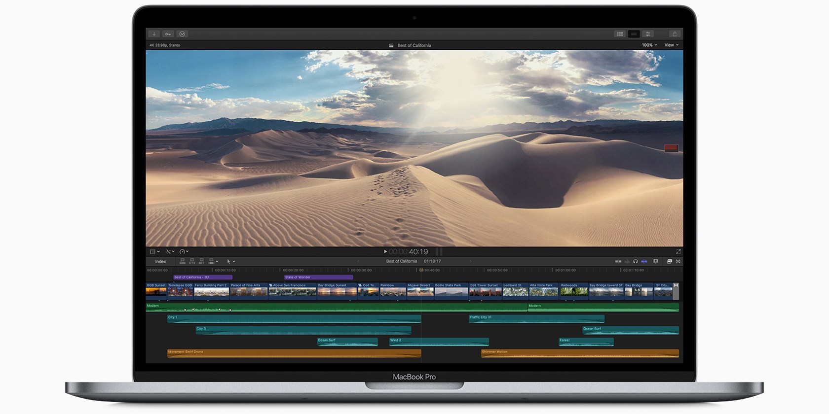 Apple Updates MacBook Pro With Faster Processor and Better Keyboards
