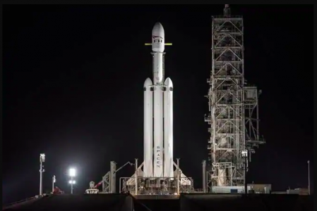 SpaceX's Is Launching  Falcon HeavyOne on New Time 2:30