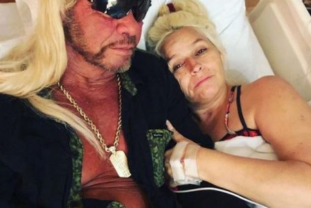 Beth Chapman in a Coma Hospital