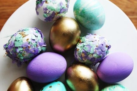 150+ Beautiful and Creative Suggestions for Dyeing Easter Eggs