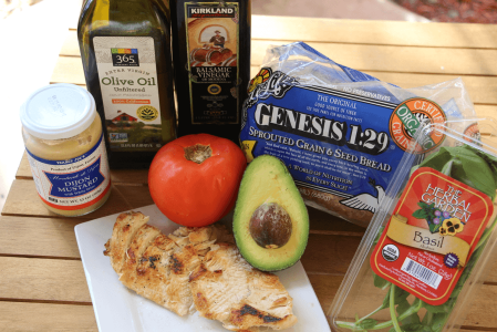 Healthy Recipes: Chicken Panini with Tomato, Basil, and Avocado