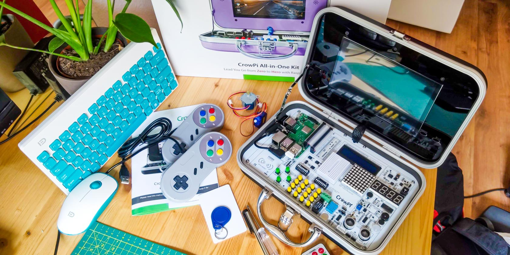 Don't Buy a Raspberry Pi Until You've Seen CrowPi All-in-One Kit (Review and Giveaway!)