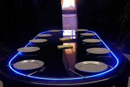 Poker dining table by Lee J Rowland