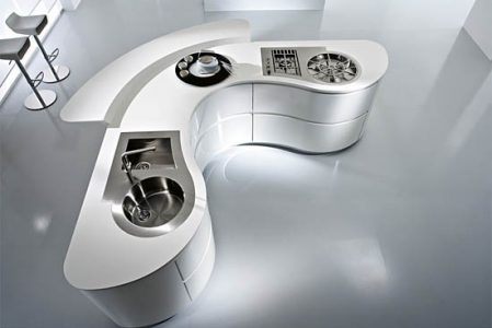Dune kitchen by Pedini