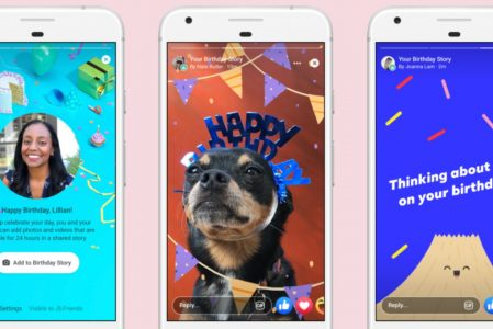 Facebook Launches a New Way to Say Happy Birthday