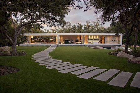Glass Pavilion by Steve Hermann Design