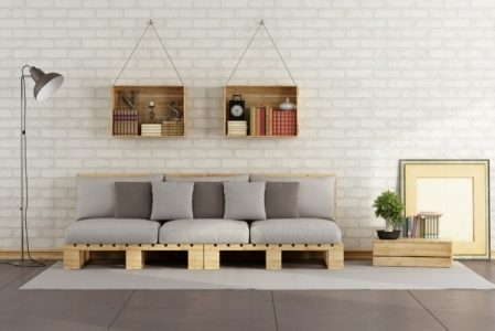 How to Make a Pallet Couch – Tutorial and 60 Great Ideas