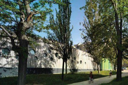 Nursery in the park by Santiago Carroquino Arquitectos