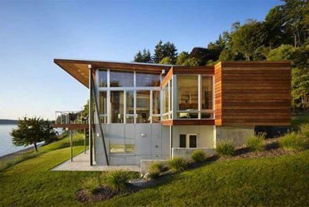 Vashon Island Cabin by Vandeventer + Carlander Architects