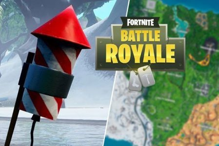 Where to find Fireworks in Fortnite Map Locations