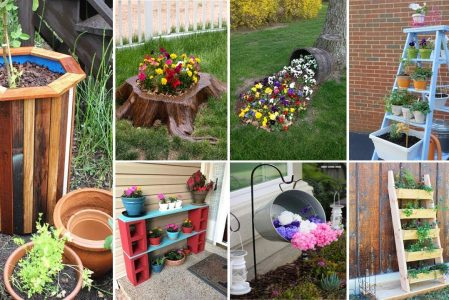 55 Easy DIY Garden ideas That's You need