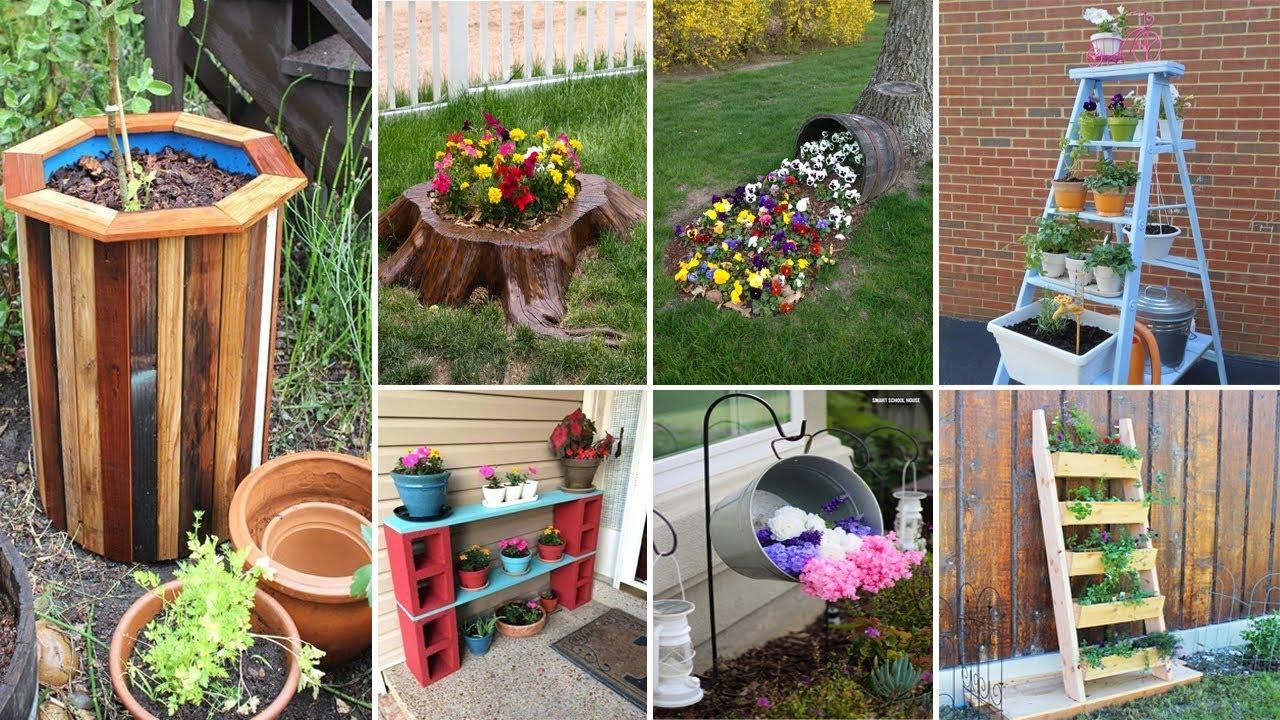 55 Easy DIY Garden ideas That's You need