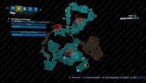 Borderlands 3 Typhon Logs map