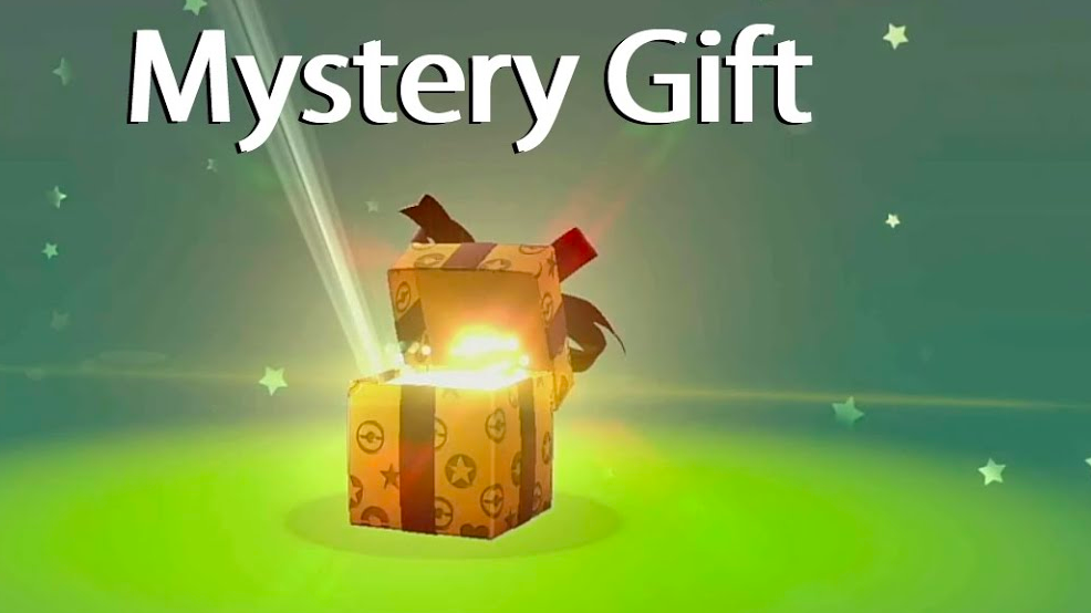 mystery gift codes - pokemon sword and shield