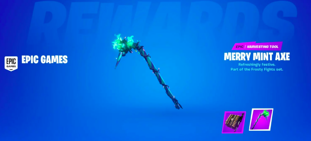 Fortnite Minty Codes: How To Get Merry Minty Pickaxe Codes ...