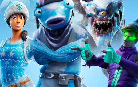 Frozen Nog Ops Fortnite Presents Christmas Skin, Outfit, Pack