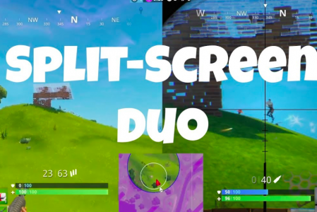 Fortnite: How to do split screen multiplayer PS4, Xbox