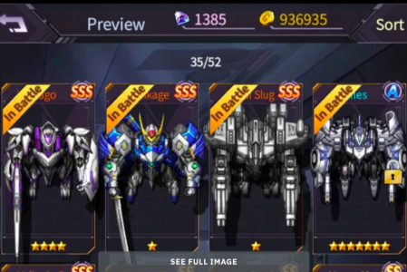 Iron Saga Tier List: Pilote and Merch