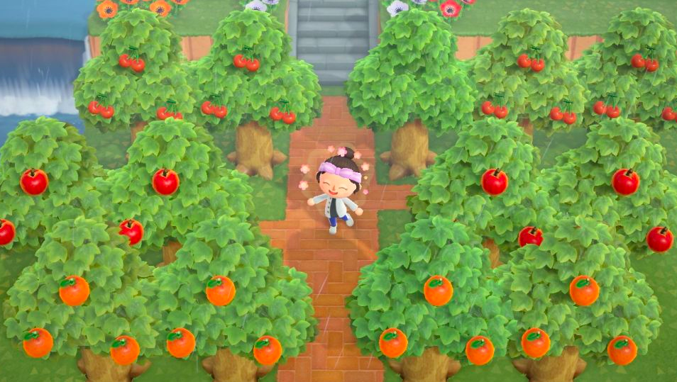 Animal Crossing: New Horizons fruit
