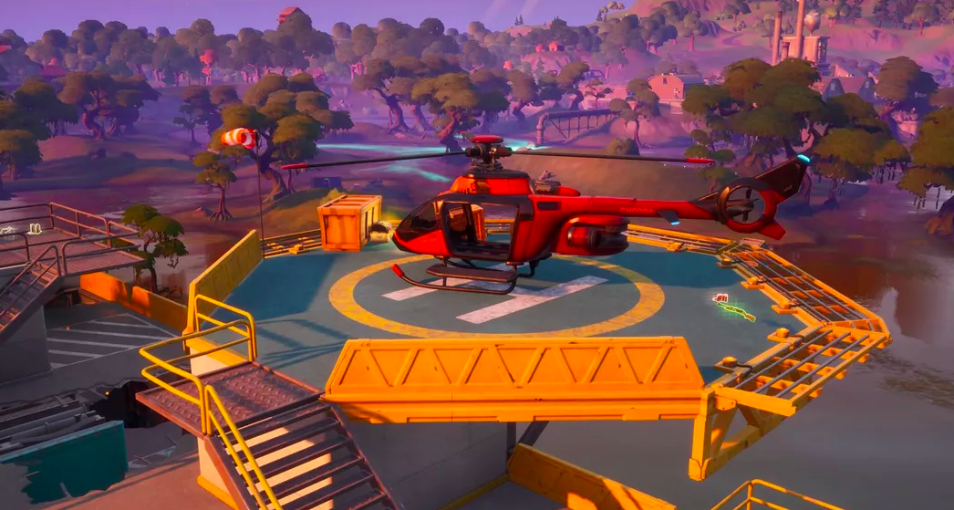 Helicopter Locations in Fortnite – Where to find them