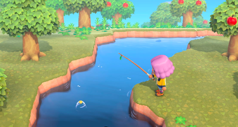 how to catch fish animal crossing