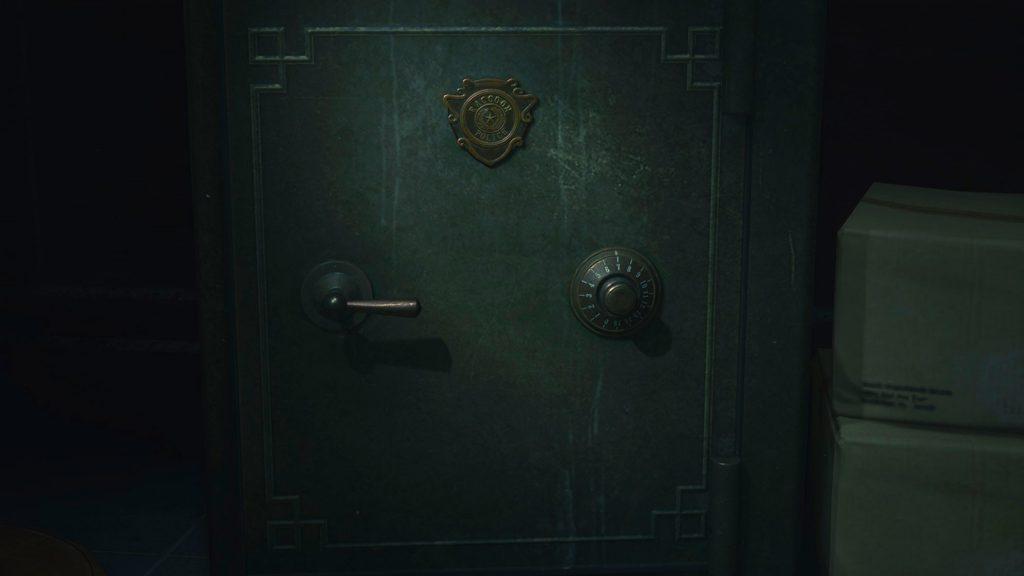 Resident Evil 3 safe codes