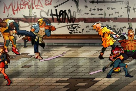Streets of rage 4 Characters & how to Unlock