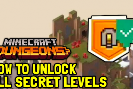 Minecraft Dungeons: Unlock Secret Levels & Locations