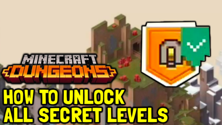 Secret Levels in Minecraft Dungeons