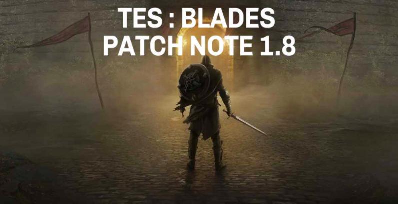 The Elder Scrolls patch note 1.8