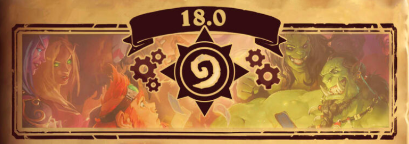 Hearthstone Patch 18.0 update