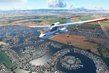 Microsoft Flight simulator 2020 PC system requirements, Download size