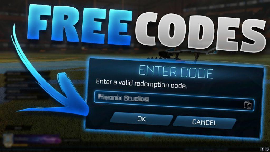 Rocket league redeem Codes 2020